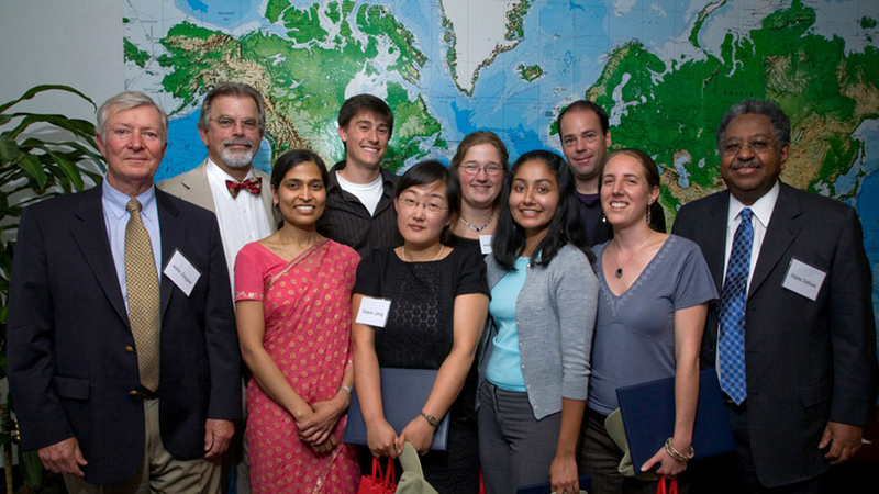 Members of the first class of the master's program at UCSF Institute for Global Health Sciences