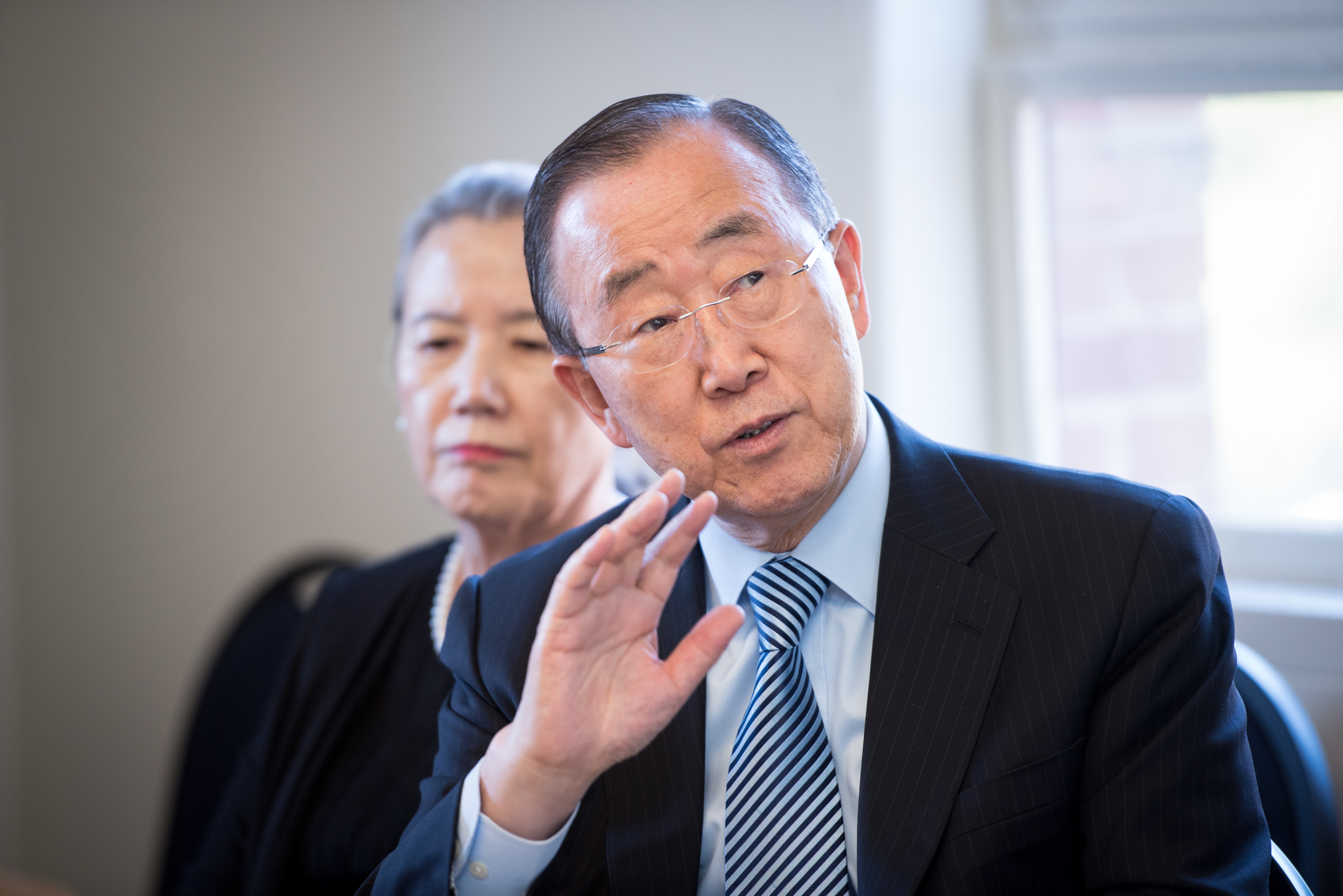 Ban Ki-moon, former UN Secretary General