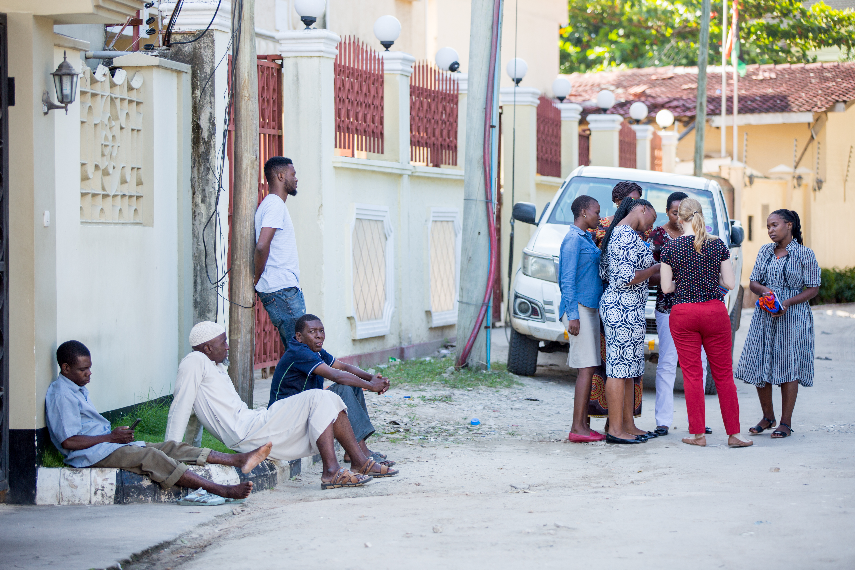 Street scene in Tanzania