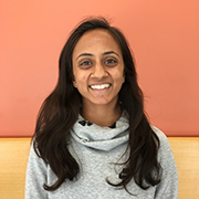 Neena Joshi, master's student at Institute for Global Health Sciences