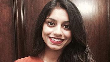 UCSF GHS master's student Rhea Mathew