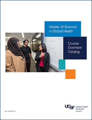 Master of Science in Global Health - Course Overview Catalog