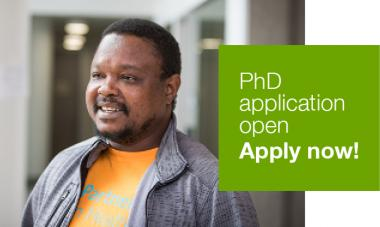 PhD application is now open. Apply now!