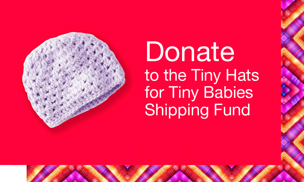 donate to tiny hats shipping fund