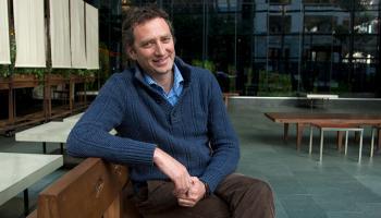 UCSF Professor Roly Gosling, Malaria Elimination Initiative lead