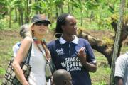 Diane Havlir and Jane Kabami in SEARCH study in Uganda