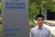 Jason Nagata, UCSF physician fellow, at World Health Organization headquarters